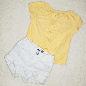 Old Navy Toddler Girl Summer Outfit 2T